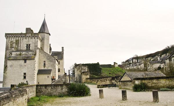 Montsoreau Valea Loarei Franta