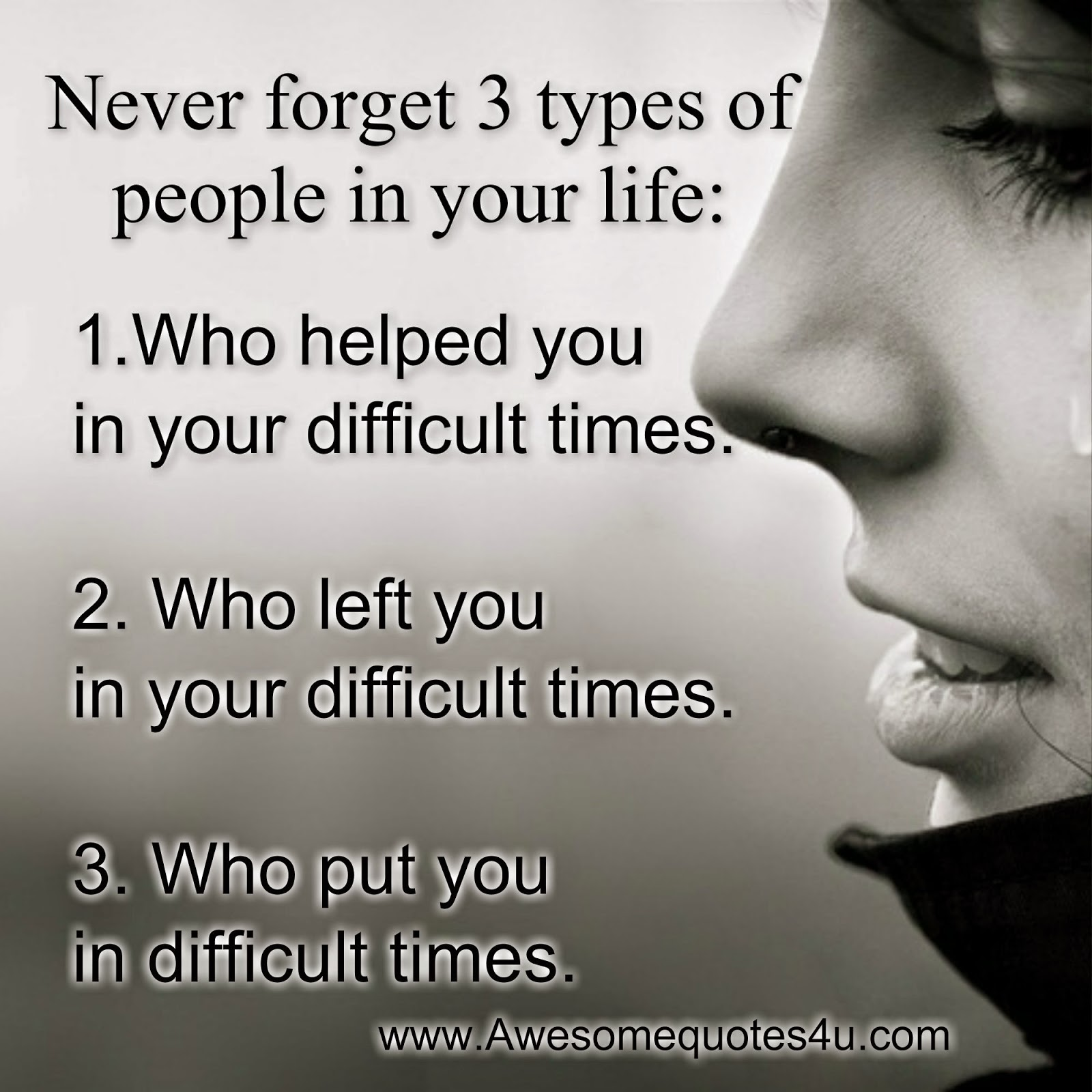 Quotes About A New Person In Your Life: Quotes About The Types Of People In Your Life. QuotesGram