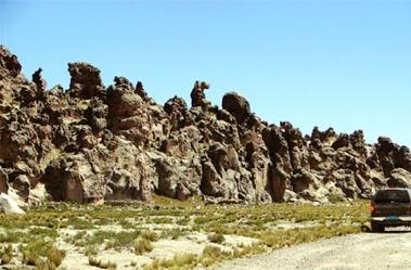 Foto del Bosque de piedra de Imata - Arequipa