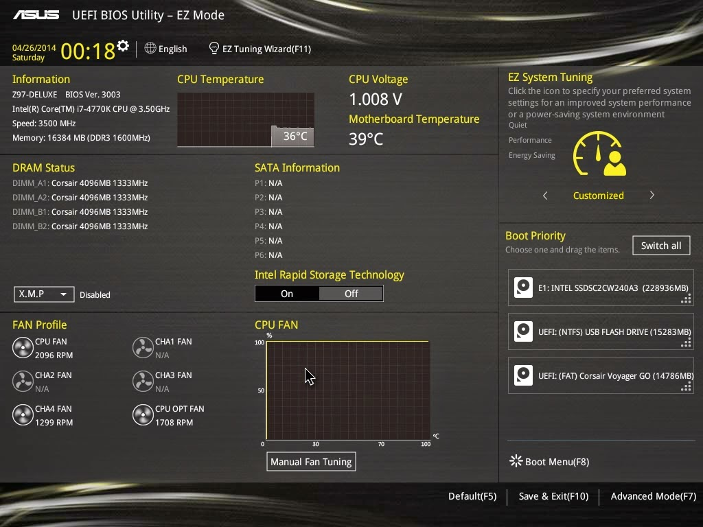 Unboxing & Review - ASUS Z97-Deluxe 180