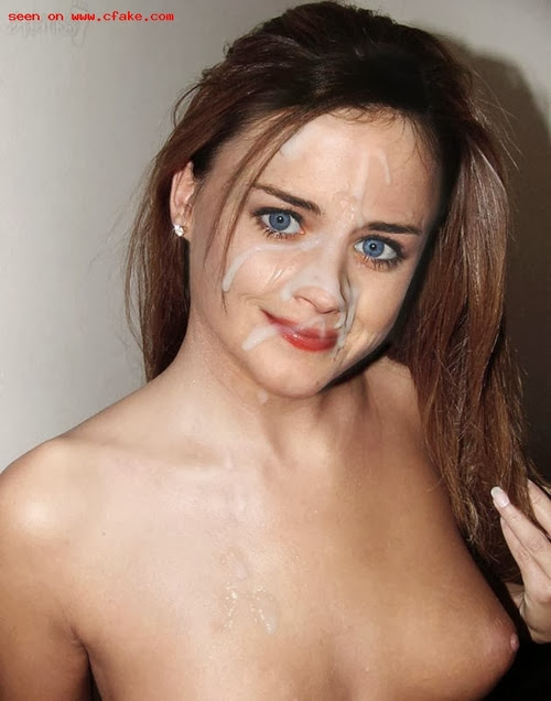 Opinion you Alexis bledel cum shots and naked fakes
