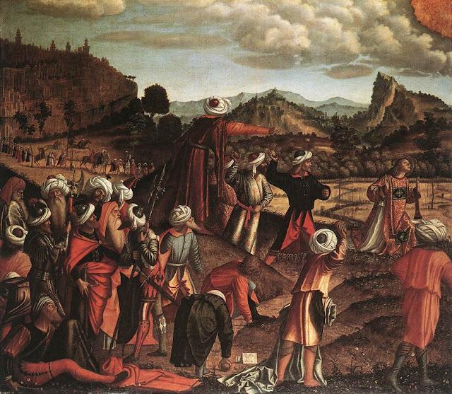 The Stoning of Saint Stephen, Stuttgart