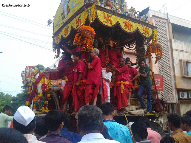 Image: Balaji Rath advancing