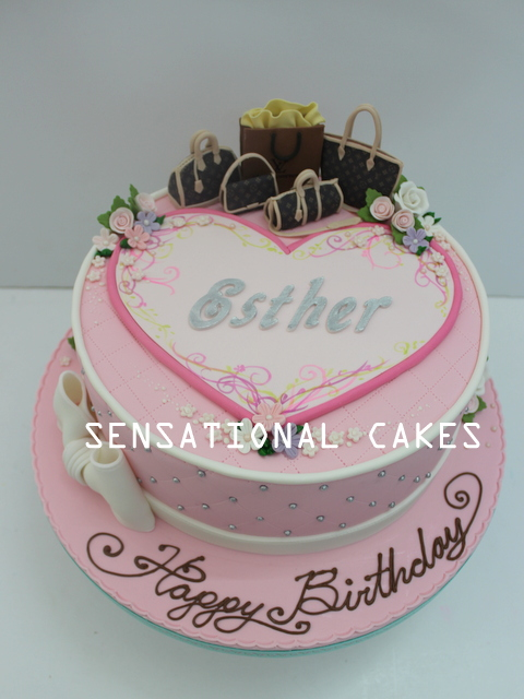 The Sensational Cakes ALTERNATIVE CAKE FOR ESTHER hEARTS LOVE