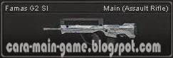 Famas G2 Sl Senjata Point Blank PB Weapon