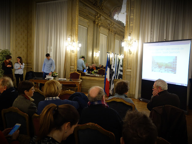 Réunion publique pour la présentation de l'aménagement de la Place Saint-Germain