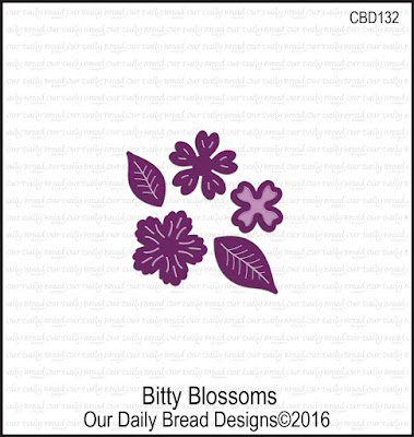 Our Daily Bread Designs Custom Bitty Blossoms Dies