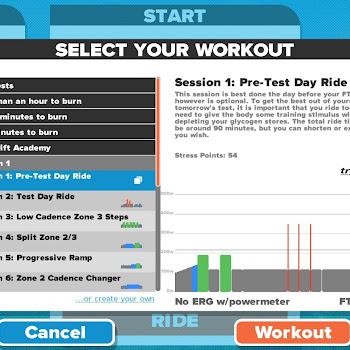 Zwift Academy Workout Mode | VonRider