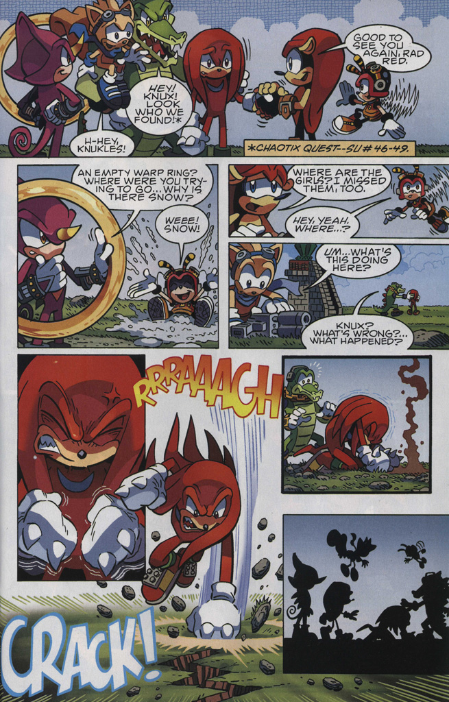 Read online Sonic The Hedgehog comic -  Issue #246 - 27
