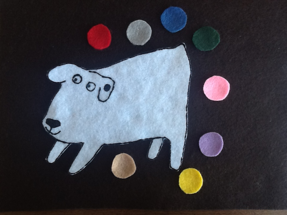 felt storyboard templates - felt board ideas dog 39 s colorful day felt board story and