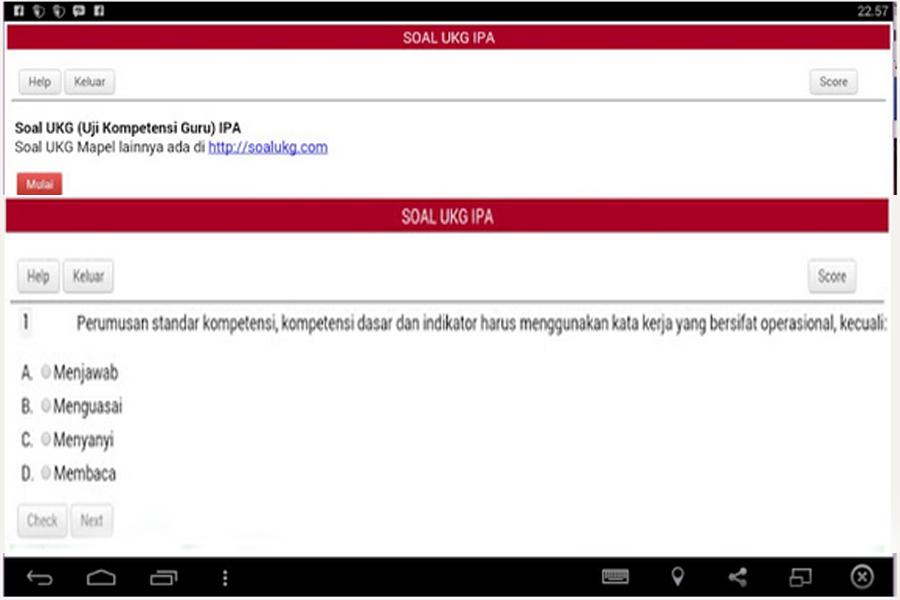Download Aplikasi Ukg 2015 Versi Android Sd Smp Lengkap Berkas Download Guru