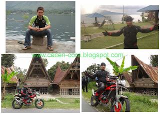 Touring ke kawasan wisata Danau Toba