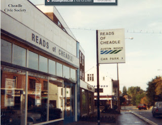 Reads of Cheadle Gatley Road forecourt