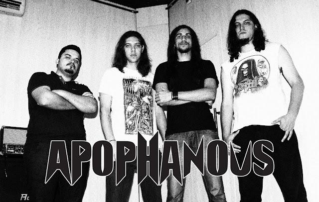 Apophanous: Show ao lado de Claustrofobia e Kisser Clan no '3º Berti Rock Festival' ocorre neste fim de semana