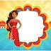 Elena de Avalor: Etiquetas para Candy Bar para Imprimir Gratis.