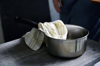 Rondel z masłem czekoladowym