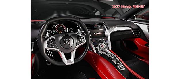 2017 Honda NSX-GT Interior