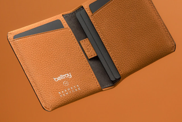 bellroy barneys travel wallet collaboration
