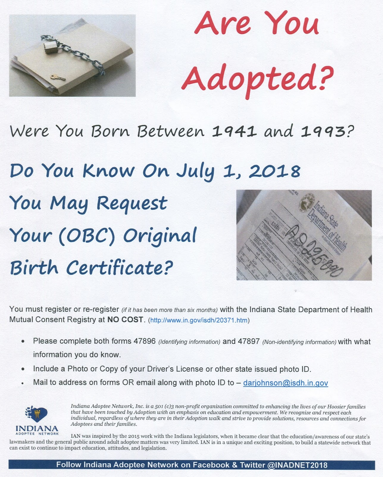 Indiana genealogical society blog 2017 we found this interesting flyer in the state library some genealogists may be interested aiddatafo Choice Image