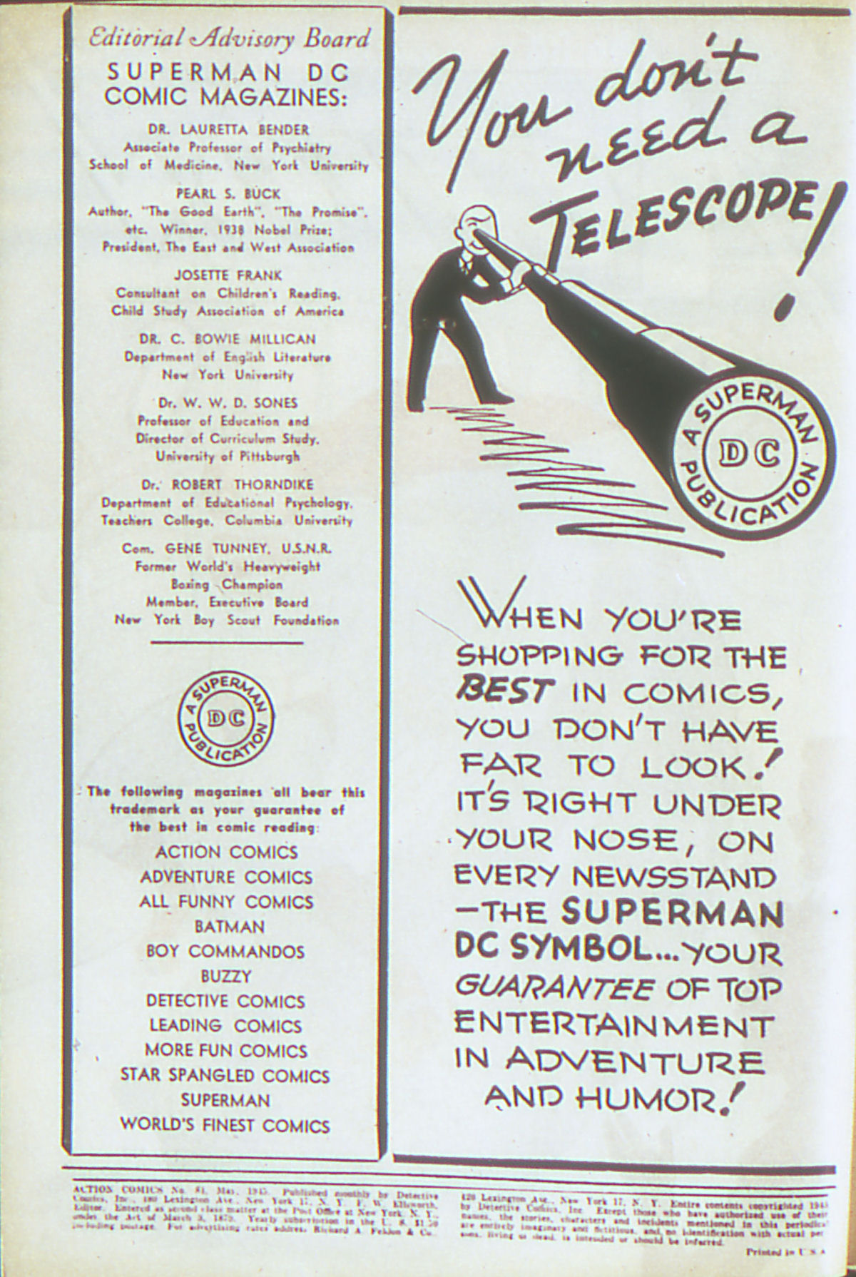 Read online Action Comics (1938) comic -  Issue #84 - 3