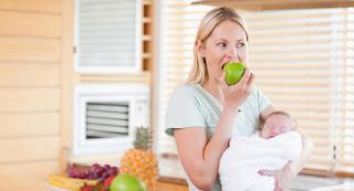diet sehat, berat badan, diet ibu menyusui