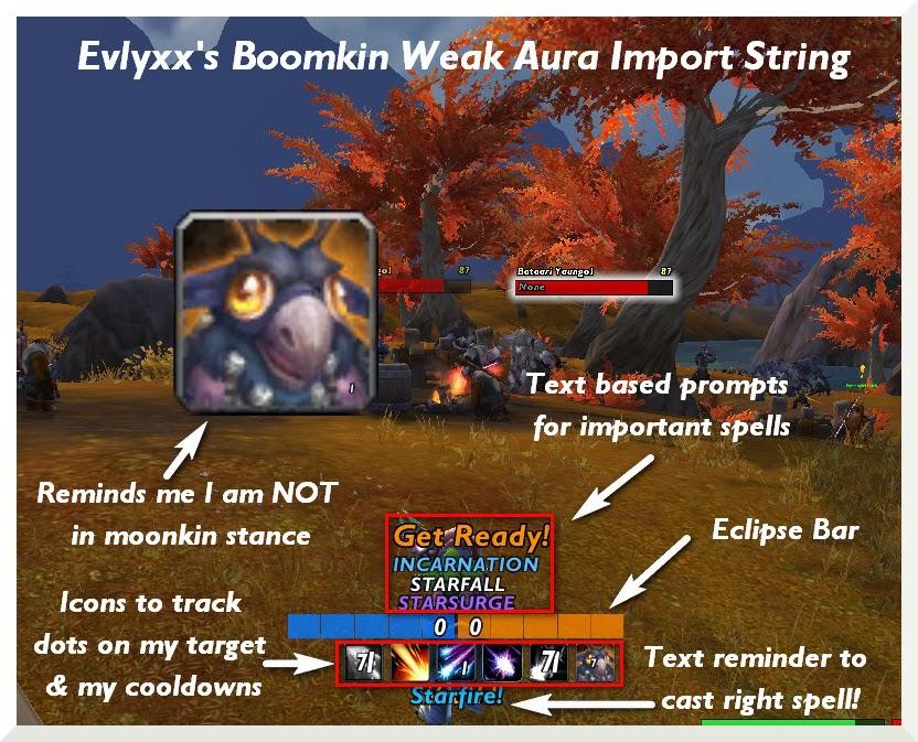 Evlyxx's Boomkin Weak Auras Import Strings – Evangelysm