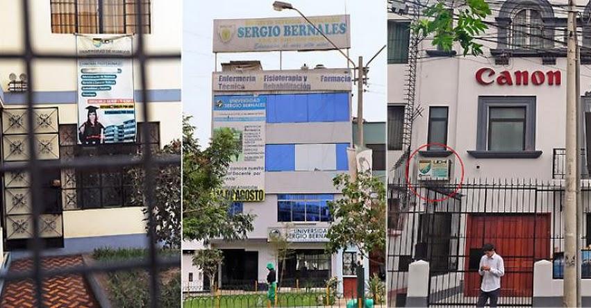 UNIVERSIDADES DE BOLSILLO: Funcionan en casas, al costado de un taller, con apariencia de hotel. Estás son las filiales desautorizadas por la SUNEDU