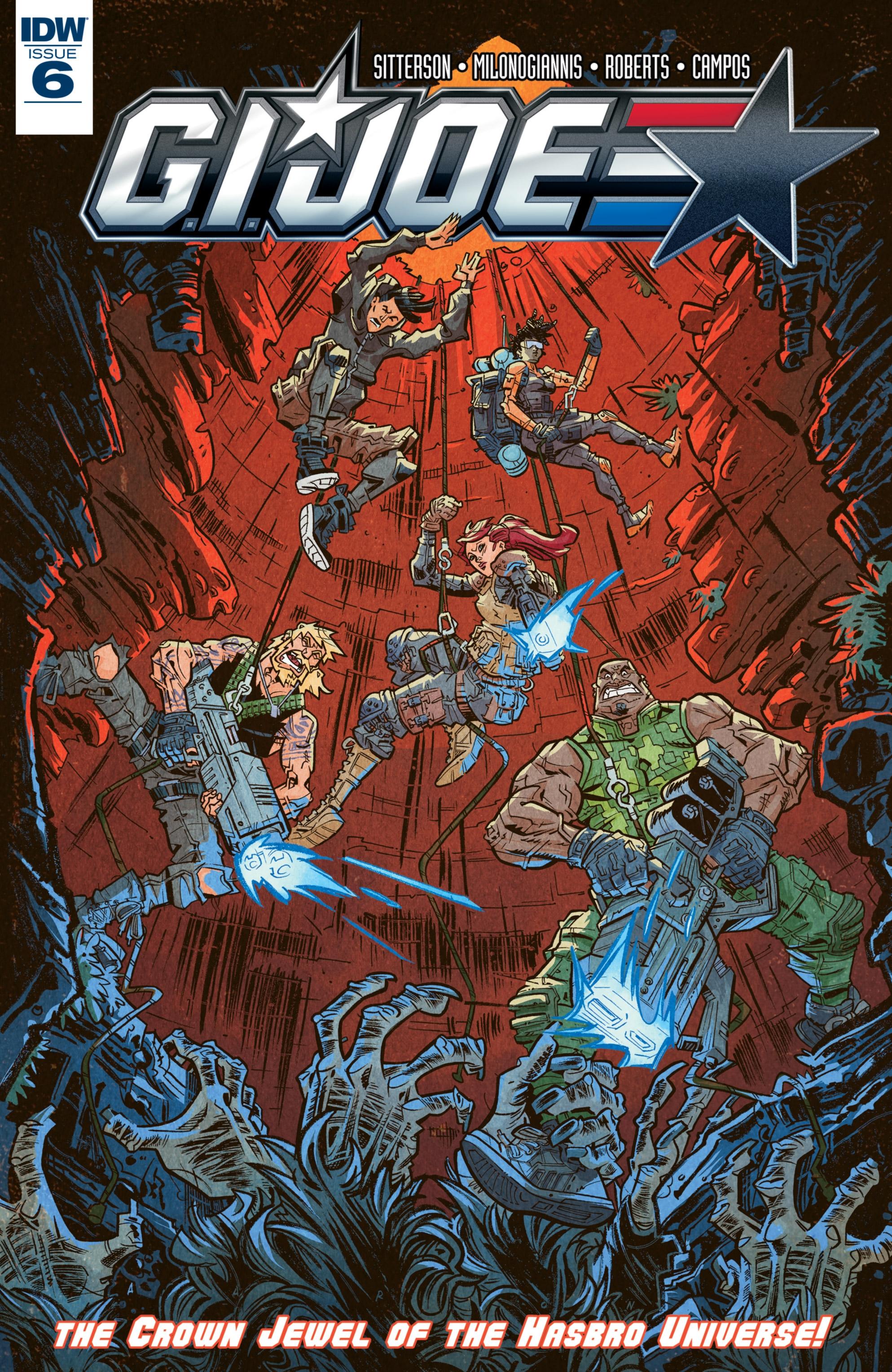 Read online G.I. Joe (2016) comic -  Issue #6 - 1