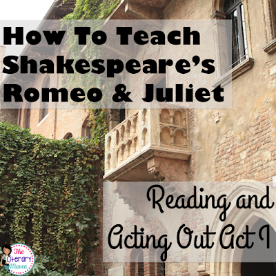 Whether you are a teacher tackling William Shakespeare's play Romeo and Juliet for the first time or you are a veteran looking to change how you've taught it in the past, it is always helpful to find out how another teacher plans it all out. Read on to find out what scenes I focus on and why, how my students read and act out those scenes, and what activities I use to extend learning and make connections.