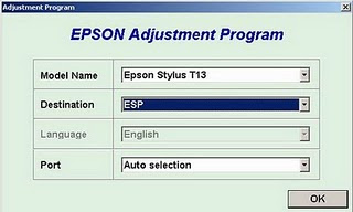 How to Reset Printer Epson T11 and T10 Using Epson Adjustment Program