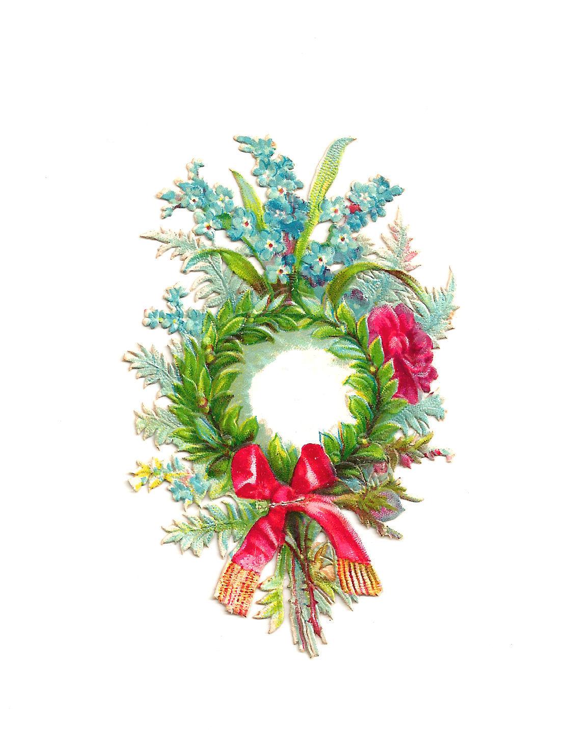 clipart flower wreath - photo #24