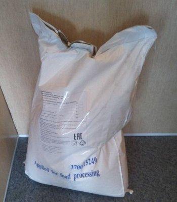 20 килограммовый мешок соевого изолята