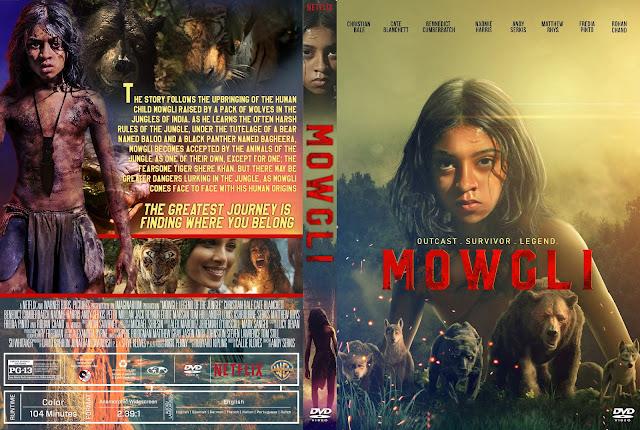 Mowgli: Legend of the Jungle DVD