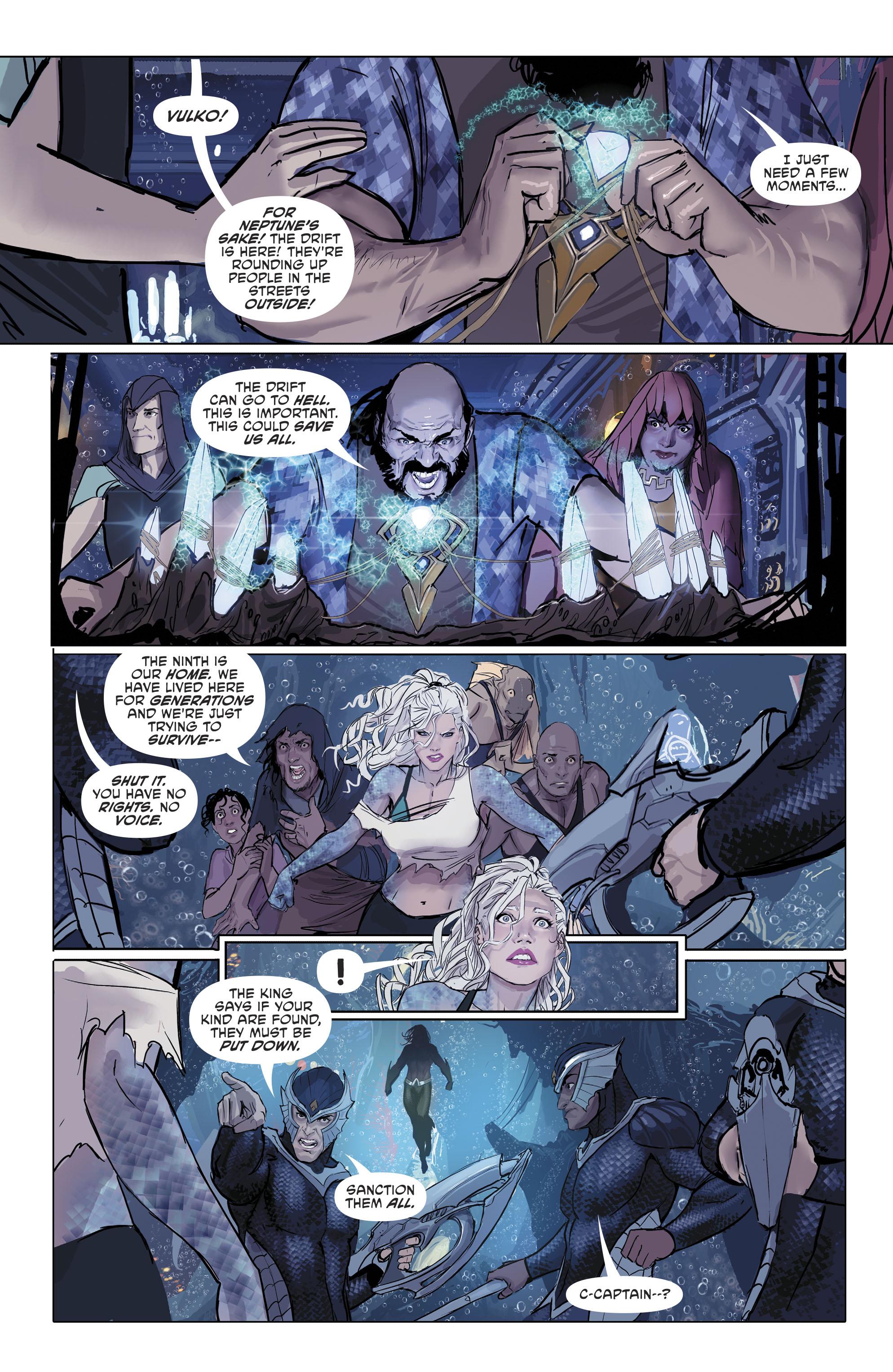 Read online Aquaman (2016) comic -  Issue #25 - 24