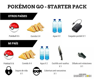 pack pokemon go en mexico meme