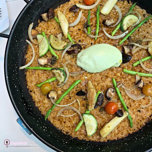 Vegetable Paella from Rico Rico Paelleria