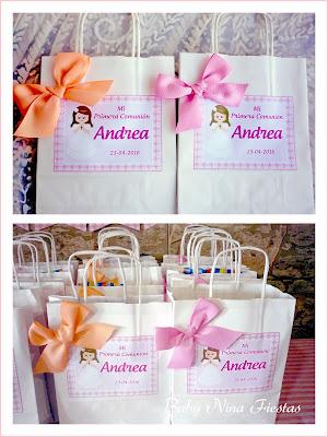 bolsas personalizadas comunion