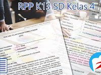 RPP K13 Revisi 2016 Kelas 4 SD Semester 2 dan 1