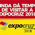 Ainda dá tempo de visitar a Expocruz 2018