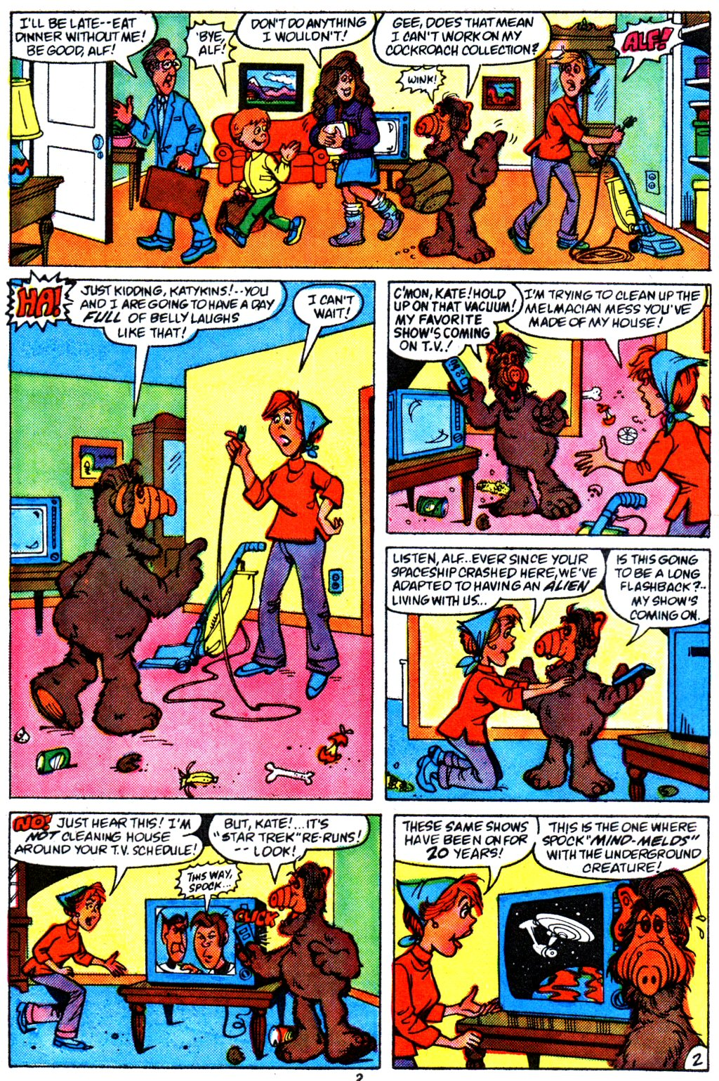 Read online ALF comic -  Issue #4 - 3