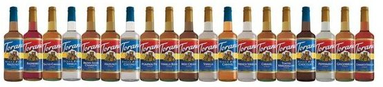 Torani Coffeehouse Flavored Syrups