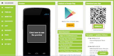 Cara Membuat Blog Menjadi Aplikasi Android Tanpa Coding