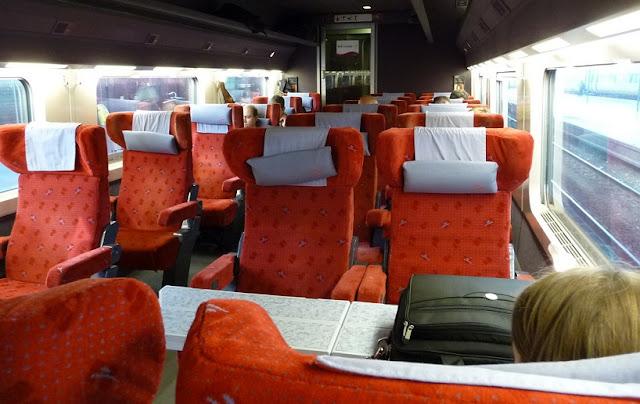 Viagens de trem em Amsterdã e na Europa