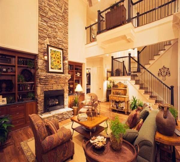 Gambar ruang keluarga mewah cocok untuk rumah mewah