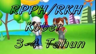 RPPH PAUD/KB Usia 3-4 Tahun Semester 1 Kurikulum 2013 Tahun Pelajaran 2018/2019