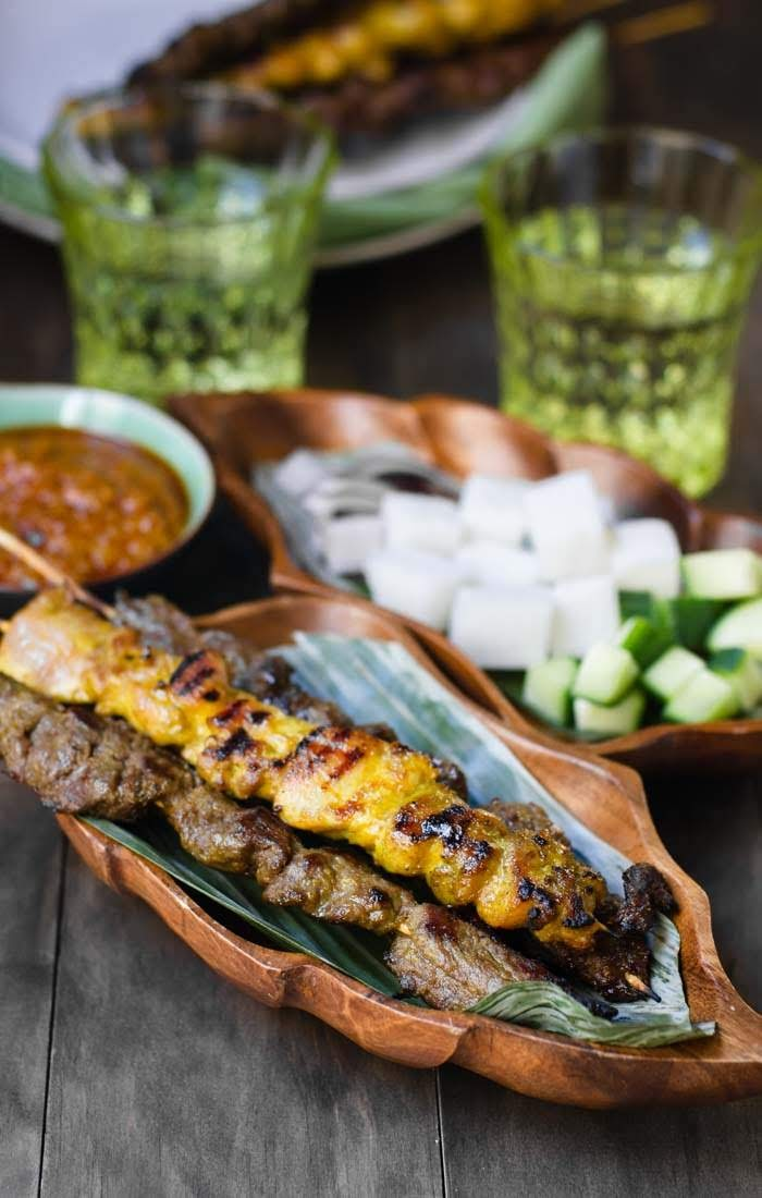 Authentic beef satay recipe