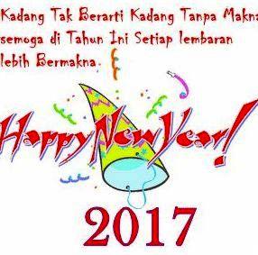 Kata Kata Ucapan Selamat Tahun Baru 2017|