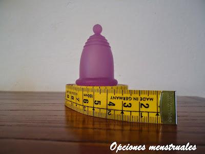 elegir talla copa menstrual