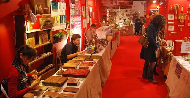 Mercado de Natal Amigo da Terra em Almada