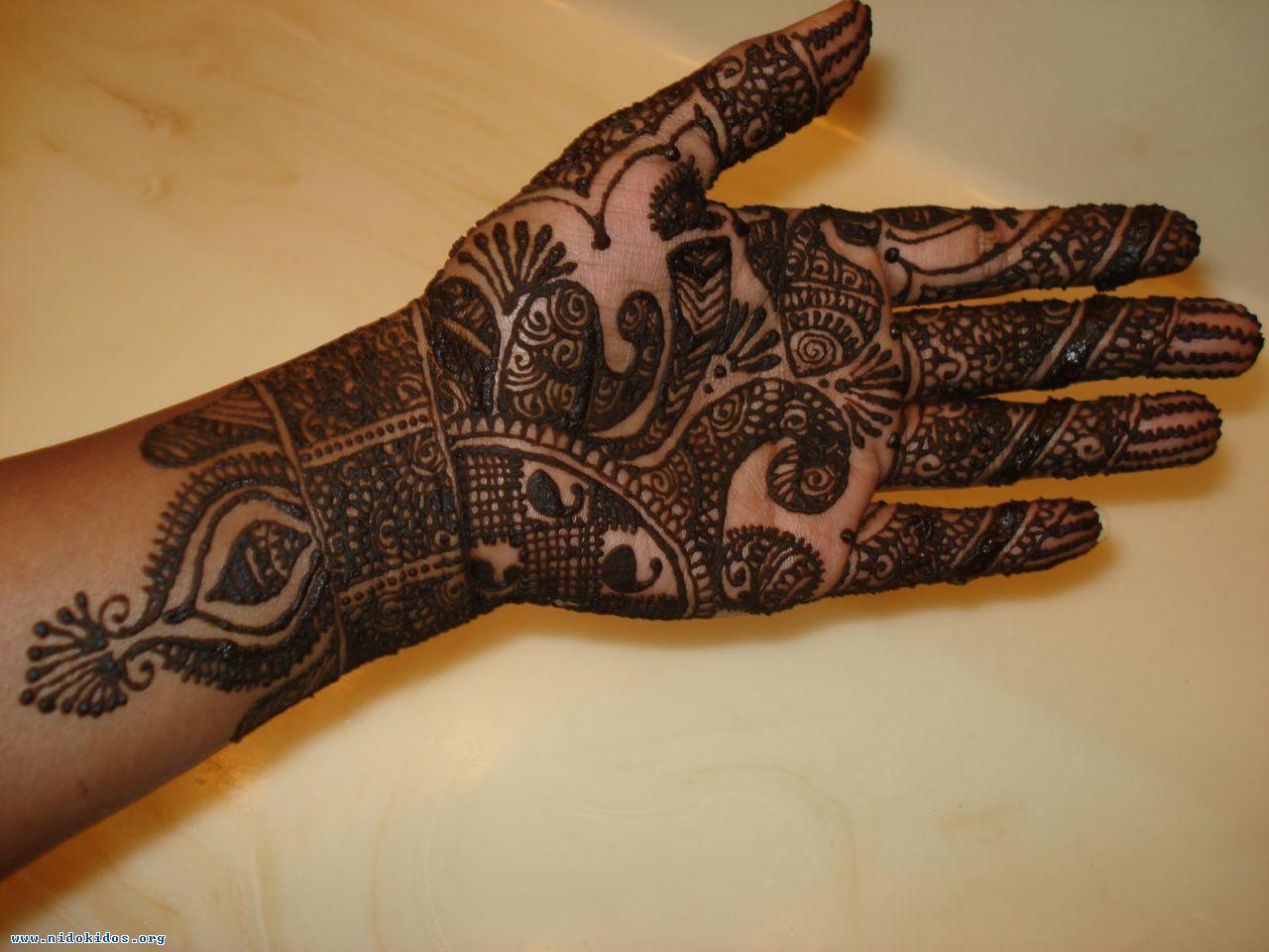Full Hand Mehndi 2013